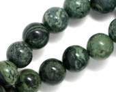 Kambaba Jasper Beads - 8mm Round - Full Strand