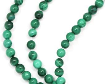 Malachite Beads - 3mm Round