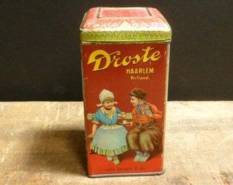 Vintage Droste Cocoa Tin