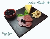 12 x 10 SLATE CHEESE BOARD with Soapstone Chalk