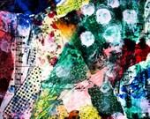 Mixed media, outsider art: Reflection