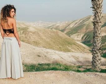 Cotton Wrap Skirt ~