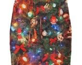 Christmas Tree Mini Skirt
