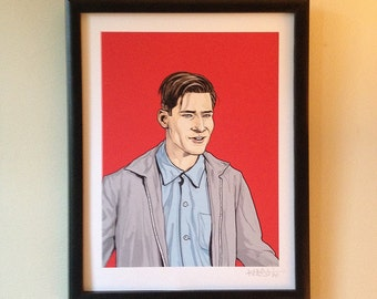 George McFly limited edition giclée