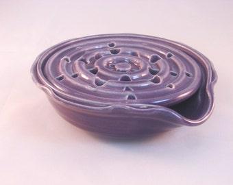 Self Draining Leaf Soap Dish