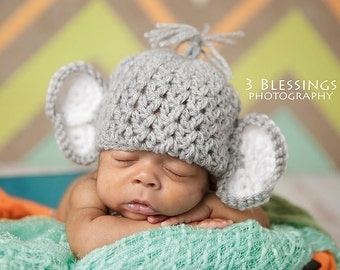 Newborn Elephant Hat