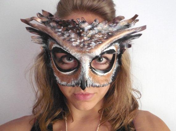 Leather Owl Mas...