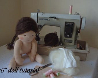 Tutorial ~ Waldorf Doll