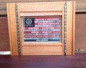 5x7 mahogany chain frame