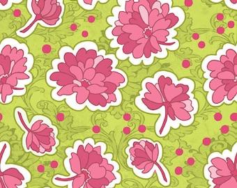 Lila Tueller for Riley Blake Designs - Bohemian Festival - Bohemian Floral in Pink - Cotton Fabric