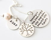 Retirement Necklace For mom - Co worker Gift -  Remember The Past Necklace - Retirement Gift Ideas - Military Retirement Woman
