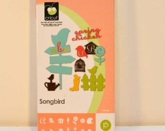 Cricut Cartridge  Songbird..... Retired