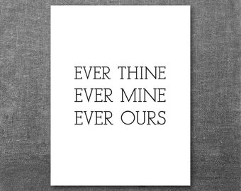 popular items for ever mine on etsy