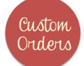 Custom Order for Debi: Crib Blanket - Little Tree's