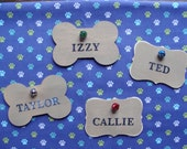 Custom Name Tag for CAT or DOG Stocking - To be Used on Pet Stockings in my Shop