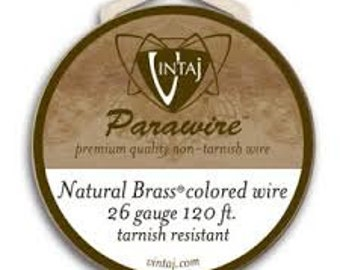 Vintaj Parawire Artisan Copper 26 Gauge 120 Ft