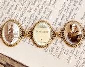"""Charlotte Brontes """"Jane Eyre"""" - Vintage Bracelet"""