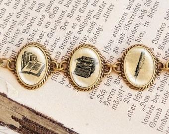 Literature - Vintage Bracelet