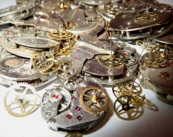 100 WHOLE Round WATCHES + 10g gear mix