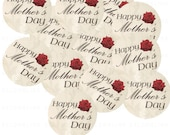 20 Happy Mother's Day tags - No1064