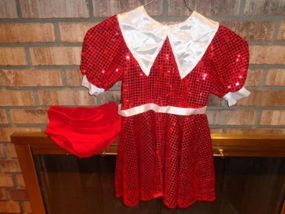Halloween costume childs little orphan annie dress by sitfan