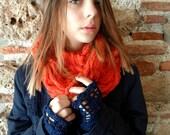 CROCHET PATTERN Forest Wrist warmers, crocheted wrist warmers, crochet warmers, crochet cuffs, a photo tutorial