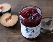 Black Cat Pluot Jam 8 oz. Black Kat Pluots are a cross of plums & apricots