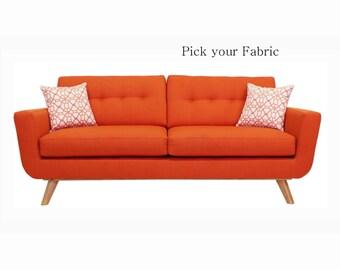 Sofa Mod Mid Century Style