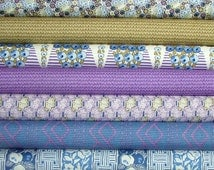 Lady Rose of Downton Abbey Fat Quarter Bundle of 7 by Kathy Hall for Andover