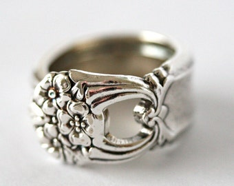 Vintage Spoon Ring- Eternally Yours (Silver Plated), 1941