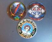 Grateful Dead Recycled CD Magnet Art