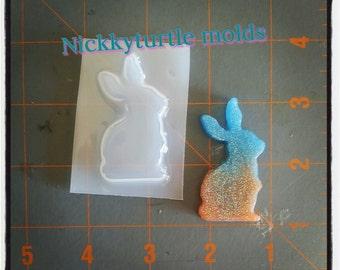 Bunny  Flexible Plastic Resin Mold