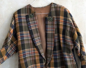 Checkered Pendleton Jacket Size S/M