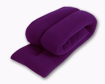 "20% OFF Microwave Purple Neck Hot Cold Wrap, 26""x5"", Rice-filled, Neck Shoulder Heating Pad,  Spot Clean"