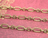 Brass Chain,16 Feet Nickel Free Unfinished Link 6x3mm CH2088