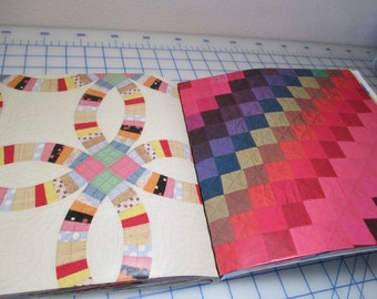 Gift Wrap of Quilts From The Museum Of American Folk Art With Gift Tags