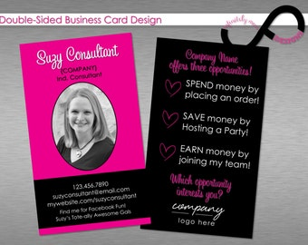 Items similar to consultant business card vertical for Damsel in defense business cards