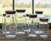 Set of 4 Wood Mason Jar Tops,  Four Wood Canning Jar Lids,  Wood Jar Tops, Kitchen Storage, Hostess Gift,