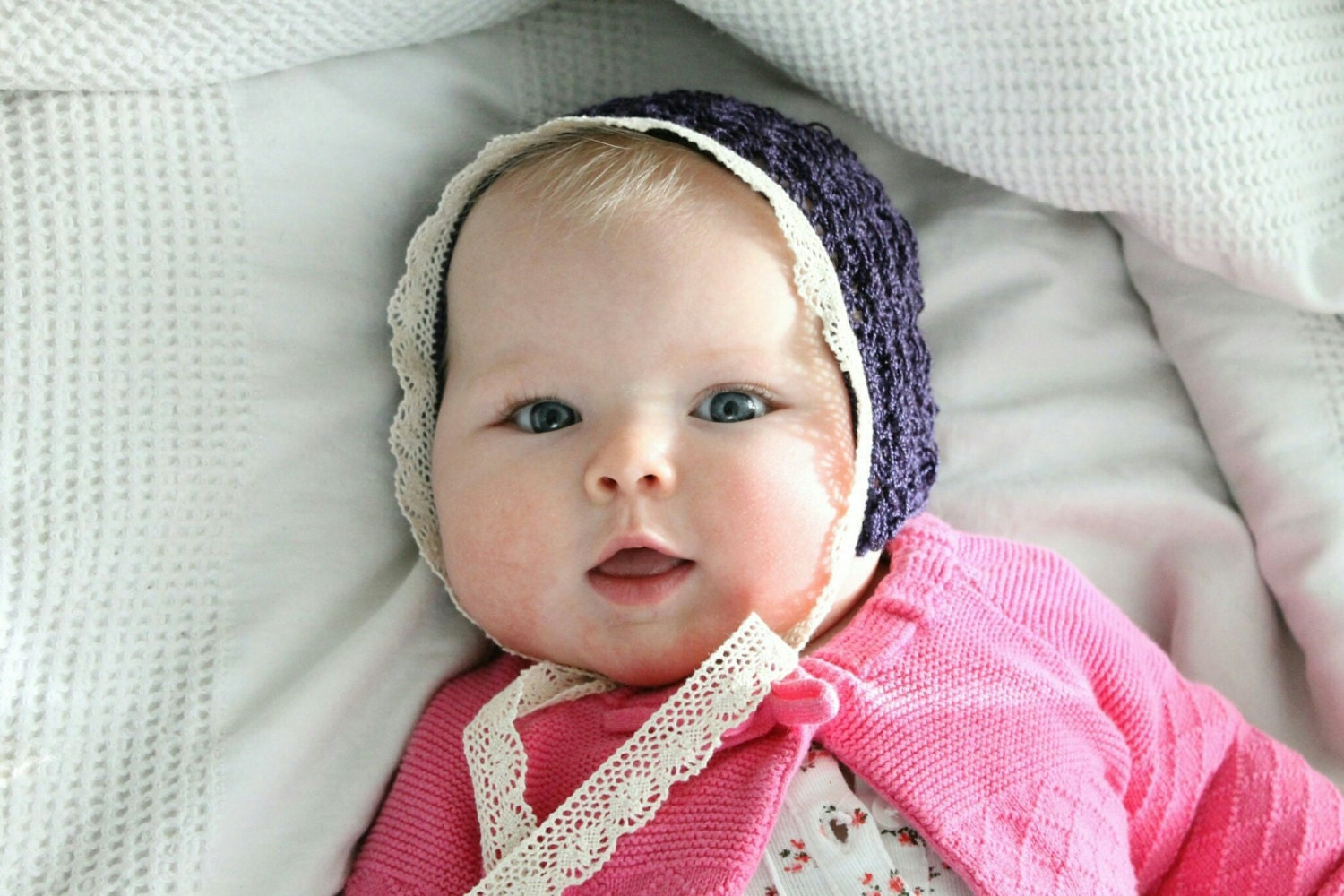 Old Fashioned Baby Bonnets 25