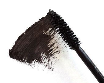 Vegan Black Mascara Handmade for Everyday Use, Natural, Paraben-Free, Cruelty Free, Gluten Free, BK01HVC