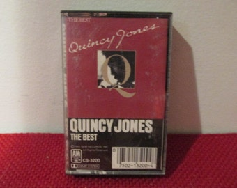Tested and Working Vintage Audio Cassette Tape Quincy Jones The Best  VG Condition