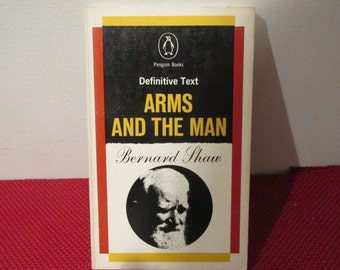 Vintage Paperback Book Arms and The Man by Bernard Shaw