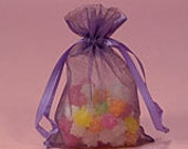Orchid Purple Organza Bag Tulle Party Wedding Favor Treat Bag 4 x 6 Packaging Gift Supply Quantity 10
