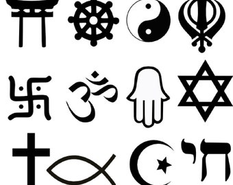 Religious Symbols SVG Collection