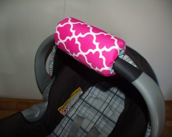 Carseat Arm Pad Cover Padding Handle Pad Only Choose your colors to match your Canopy REVERSIBLE