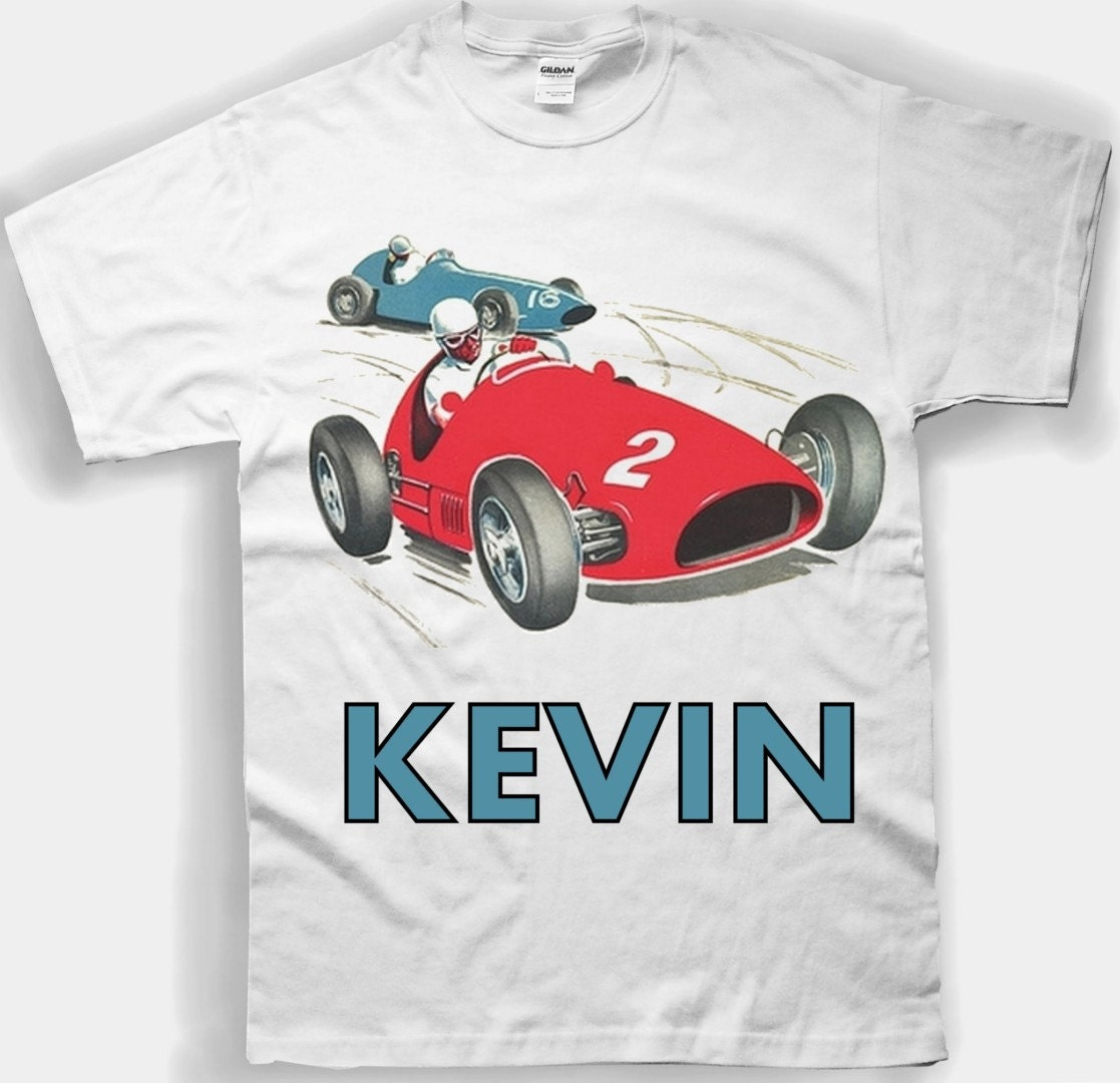 kids race car tee shirt vintage design for youth u0026 toddlers