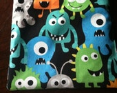 Monsters-Reusable Sandwich Bag