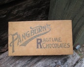 Vintage Pangburns Ragtime Chocolate Box.  Y-193