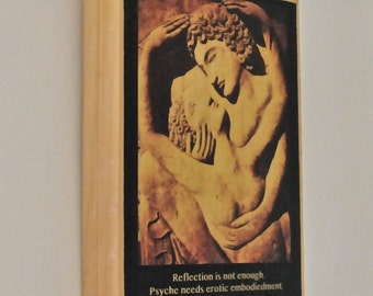 Two lovers erotic embrace--Wall art on wood