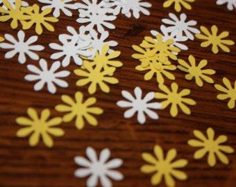 150 Daisy Confetti/Scrapbooking Embellishments